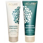 Acure Straightening Shampoo and Conditioner-Smoothing Hair
