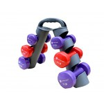 Small Dumbell Weight Set for At-Home Workouts