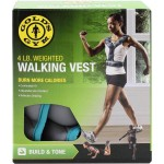 Walking Weighted Vest-4 Pounds for More Calorie Burn