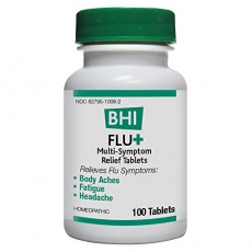 BHI-Flu Plus Homeopathic Tablets for Colds and Flu Symptoms